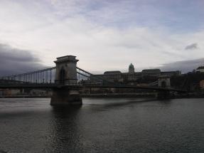Famous chain bridge